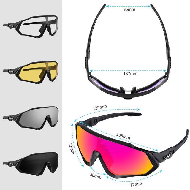Óculos de ciclismo uv400 mtb bicicleta óculos de sol correndo pesca esportes óculos de sol 6