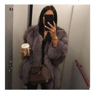 Image 3 - 2019 חדש חורף נשים ורוד מעיל בתוספת גודל 5xl אופנה מקרית Loose מוצק מלא שרוול סלעית קטיפה מעיל נשים גדול להאריך ימים יותר Parka