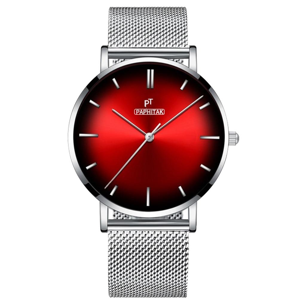 Fashion Women Watches Casual Ladies Watch Silver Black Stainless Steel Band Quartz WristWatch часы женские Reloj Mujer Gifts /d