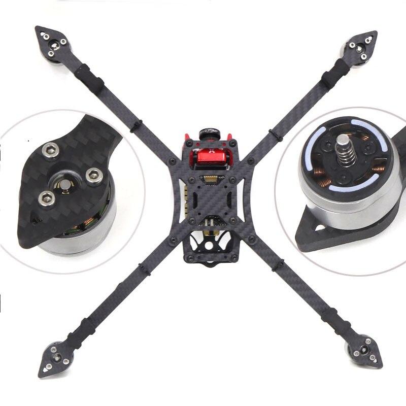 Fpv 77 # x328 328 328mm fibra de carbono completo fpv corrida quadcopter quadro kit com 5mm braço suporte 8 polegada hélice