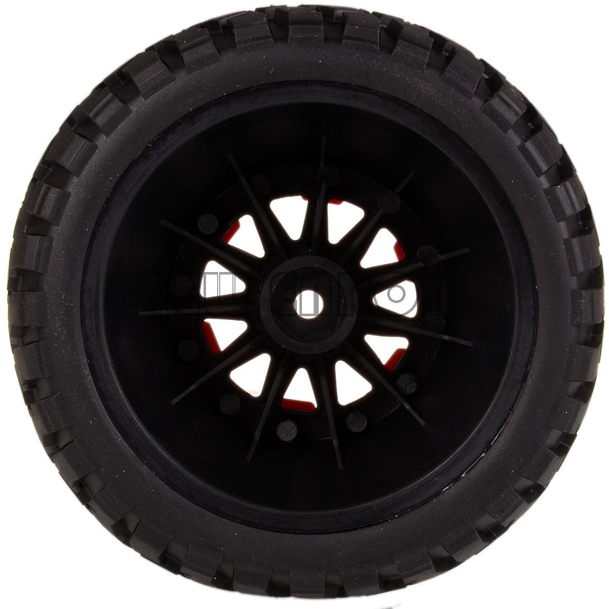 NEW Course <font><b>105</b></font>-108MM <font><b>Tire</b></font> & Bead-Lock Wheel Hub HEX FOR TRAXXAS SLASH 10SC