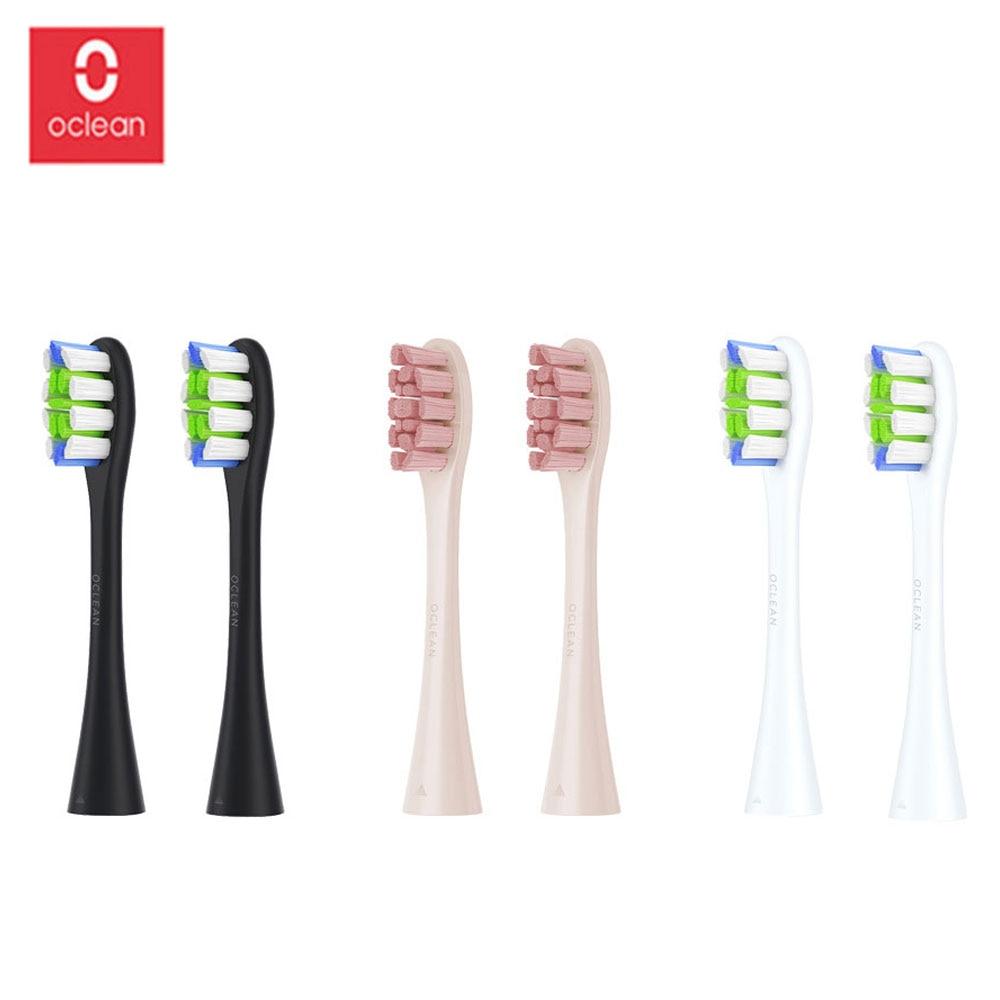 Oclean Z1 One / SE / Air / 2 шт. сменные насадки для щеток для автоматической электрической звуковой зубной щетки для глубокой чистки зубных щеток