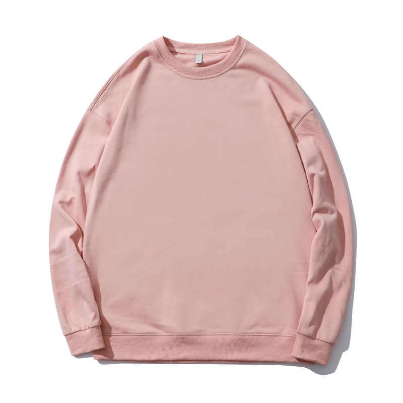 2020 새로운 여성 후드 라운드 넥 긴 소매 풀오버 여성 까마귀 고딕 여성 스웨터 Streetwear