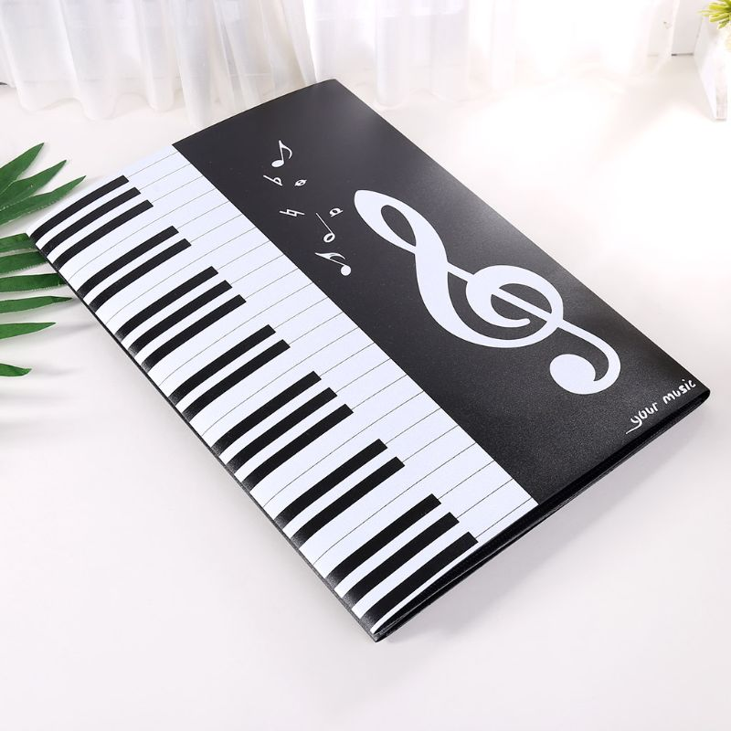 OOTDTY Sheet Document Folder Expanded Size A4 Piano Score Music Accessories Organizer