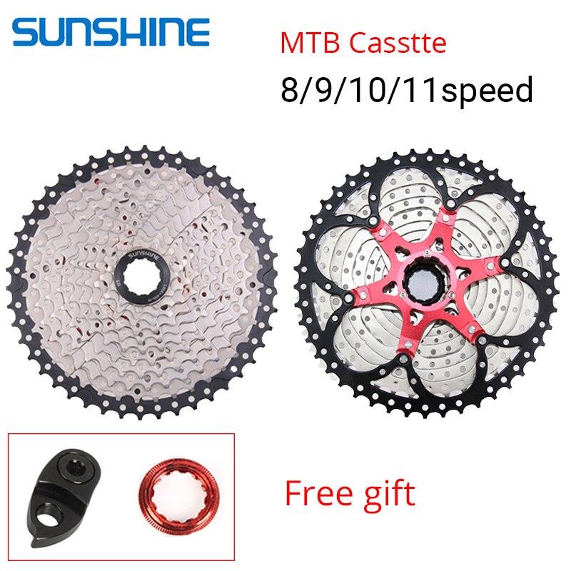 Sunshine 8//9//10//11 Speed MTB Road Bike Cassettes Cycling Cassettes Freewheel