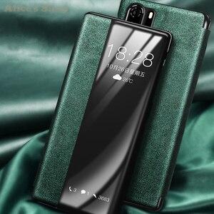 Image 2 - Cao cấp Chính Hãng Bền Da Chính Hãng Huawei P30/ Pro Thời Trang Hiển Thị View Thông Minh Dùng Cho Huawei p30 Pro