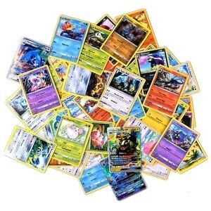 Image 3 - Juego de cartas de pokemon gx MEGA brillante para niños, juego de 324 uds, 100 uds, divertido francés e inglés, cartas de batalla