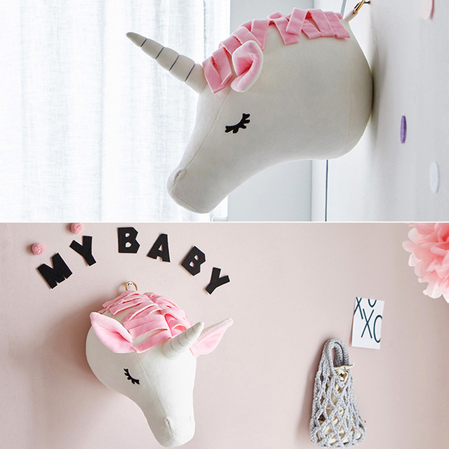 3D Animal Head Wall Mount Toy.