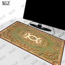 Xgz персидский ковер большой размер коврик для мыши натуральный