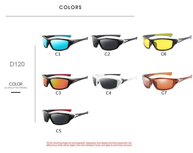 2020 unisex 100% uv400 polarizado condução óculos de sol esportes ao ar livre ciclismo pesca viagem óculos de sol para homens acessórios da bicicleta 5
