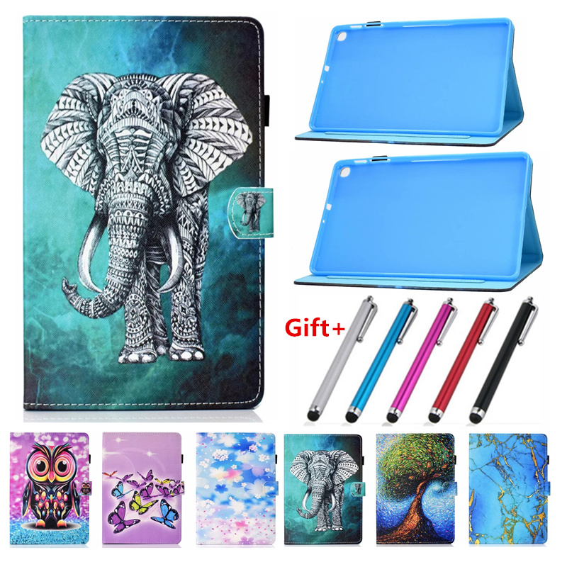 Coque For Samsung Tab A 10 1 2019 Case Tablet Protective Stand Skin Cover For Samsung Galaxy Tab A 10.1 2019 T510 T515 SM-T510