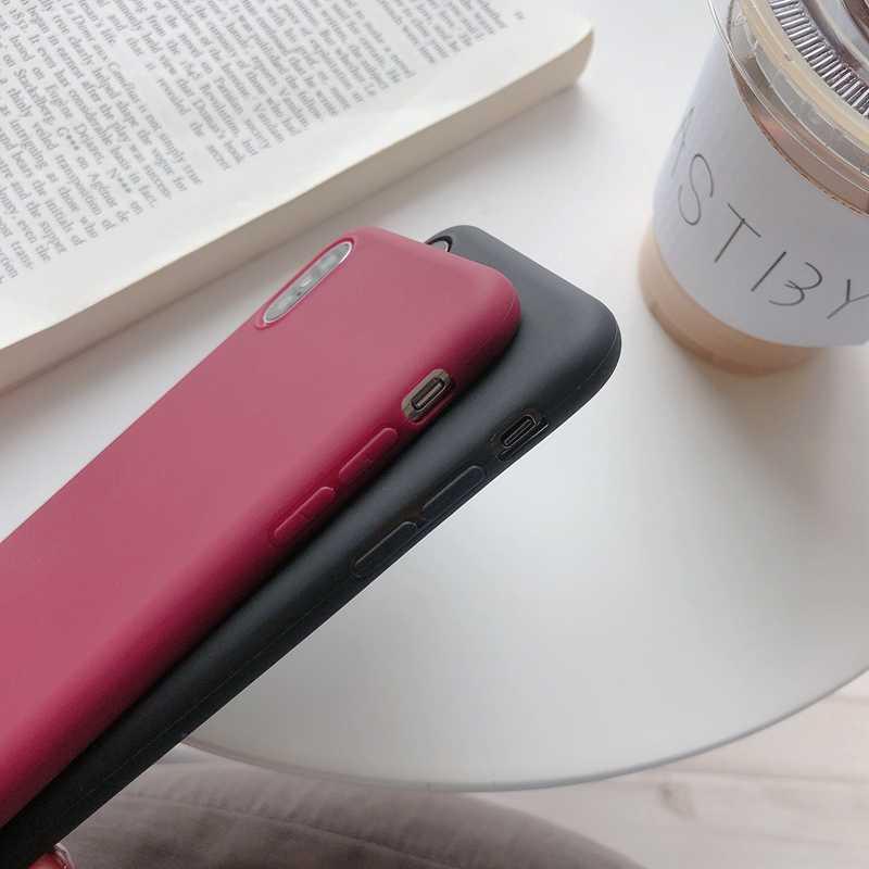 Untuk Huawei P30 Case Permen Warna Solid Capa untuk Huawei P30 P20 Mate 10 20 Pro P10 Nova 2S 3 Honor 9 10 V9 V10 Cover Slim Lembut TPU