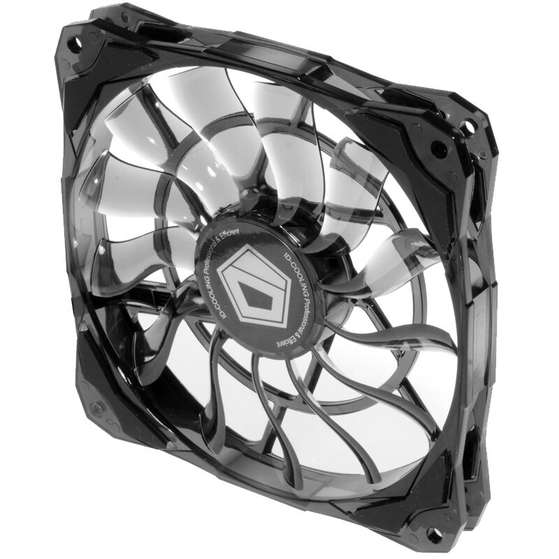 12015 Slim 15Mm Thickness 53.6CFM <font><b>120Mm</b></font> <font><b>PWM</b></font> Controlled Cooling <font><b>Fan</b></font> for PC Computer image