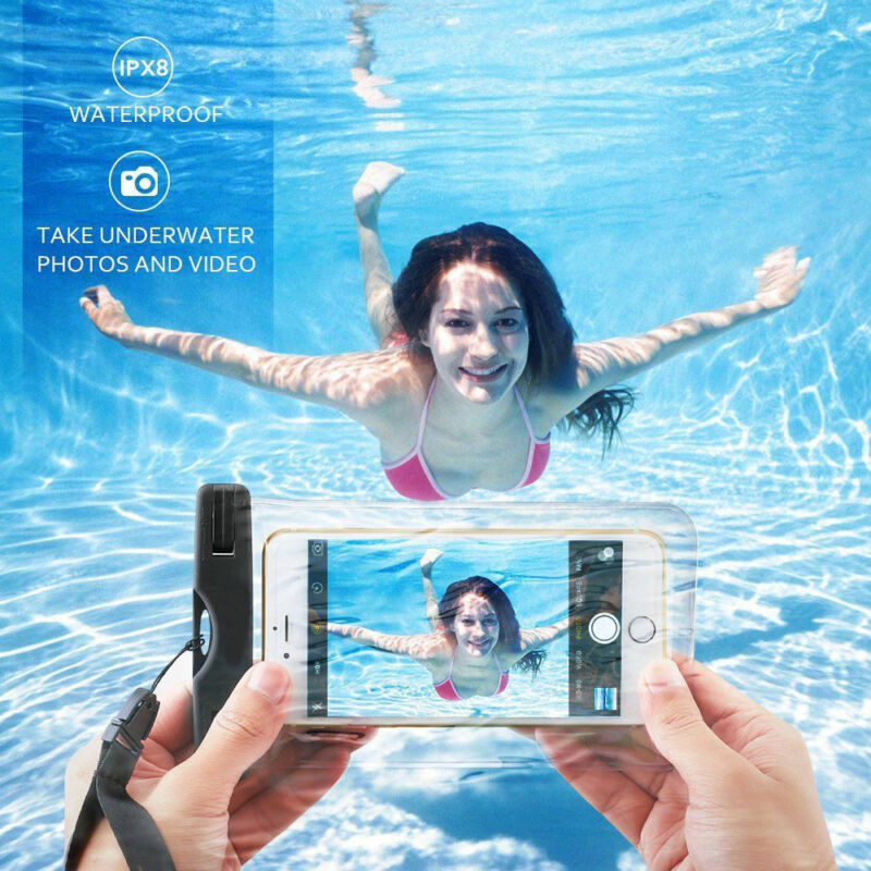 6 Inch Mobile Phone Waterproof Case Dry Bags Pouch IPhone 6/6s 7 Plus Underwater Swimming Diving Phone Bags Summer Beach Must