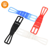 Bicycle mobile phone stand strap bicycle accessories flashlight silicone