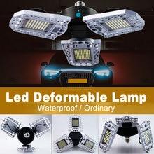 Led Garage Lamp 220V High Power Bulb Led E27 Deformable Foldable Light 60W 80W 100W Led Warehouse Lamp 110V Industrial Lighting