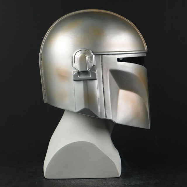 Star Wars Helmet The Mandalorian Helmet Mask Hard PVC Cosplay Mandalorian Soldier Warrior Helmets Masks Adult Star Wars Prop 2