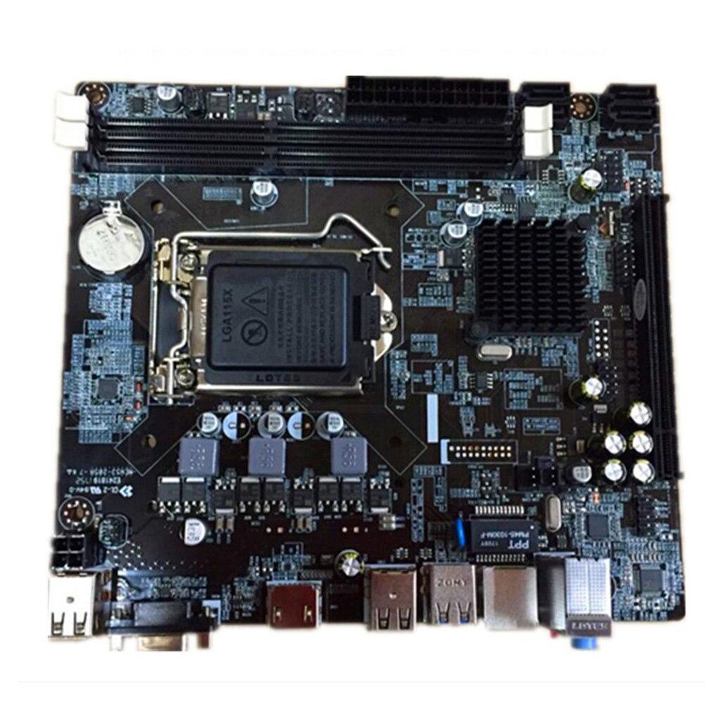 DDR3 mémoire USB Interface carte mère LGA 1150 ordinateur professionnel VGA M ATX HDMI pour Intel H81 Socket accessoires remplacement