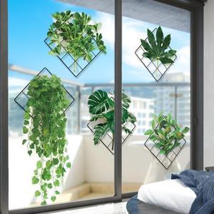 Зеленые листья с художественным принтом растений декоративные настенные зеркальные наклейки фотографии плакат Настенная Home Гостиная украшения современный декор|Рисование и каллиграфия|   | АлиЭкспресс