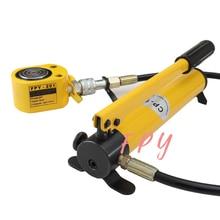 Thin Type Hydraulic Cylinder FPY-201 Hydraulic Lifting Jack with CP-180 Hydraulic Manual Pump