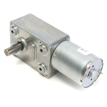 ZGY370 DC 6V 12V 24V Reduction Motor Worm Turbo Geared Motor DC 12V 1RPM 2RPM 10RPM 100RPM 200RPM Electric Gearbox Reducer