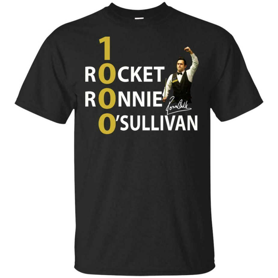 1000 Rocket Ronnie O'Sullivan Shirt S-3Xl Made In Usa Korte Mouwen Tee Shirt