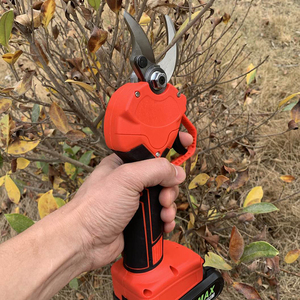 36V Electric Garden Pruner Tool Cordless Electric Rechargeable Lithium Pruning Shears Branch Cutter Grafting Tool Garden Scissor