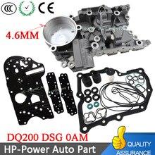 DQ200 DSG 0AM накапливается корпус+ коробка передач ремонт прокладка фильтра резиновое кольцо грязезащитный чехол Комплект для Audi Skoda 0AM325066AC