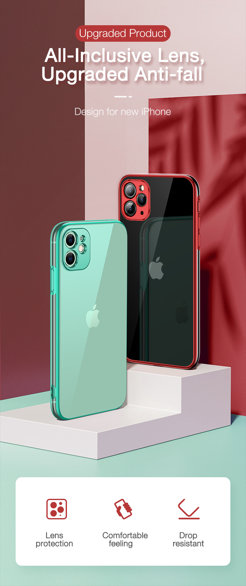 plating case for iPhone 11 pro max cover (1)