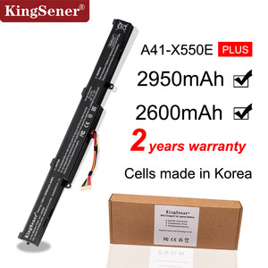 KingSener Korea Cell A41-X550E Laptop Battery for ASUS X450 X450E X450J X450JF X751M X751MA X751L X750JA A450J A450JF A450E(China)