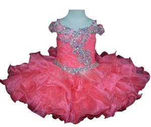Image 3 - Новинка, рождественское платье для первого причастия, платье для младенцев, платье для детского карнавала, платье для папы и танцев, платье с цветами для девочек на Хэллоуин