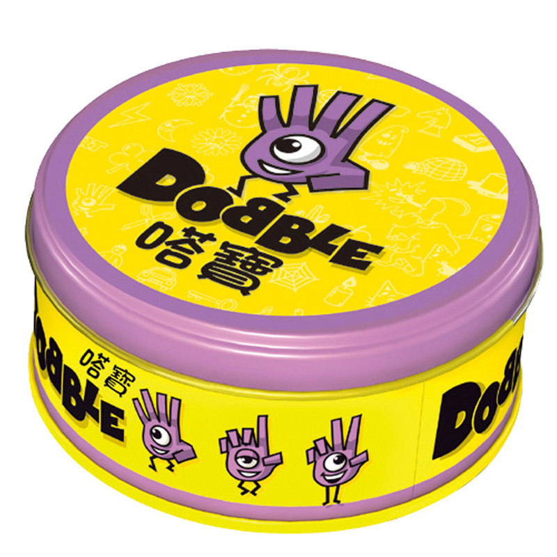 Dobble Card Game With Metal Box Enjoy It For Family Gathering As Best Gift For Kids Dobble It Board Game
