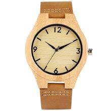 Generous Quartz Wooden Watch for Men Delicate Wooden Case Watches