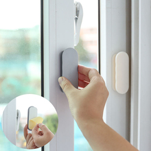 2pcs ABS Plastic Door And Window Handles Cabinet Drawer Tools Self-Adhesive  Multifunctional Auxiliary Handle For Home Improveme