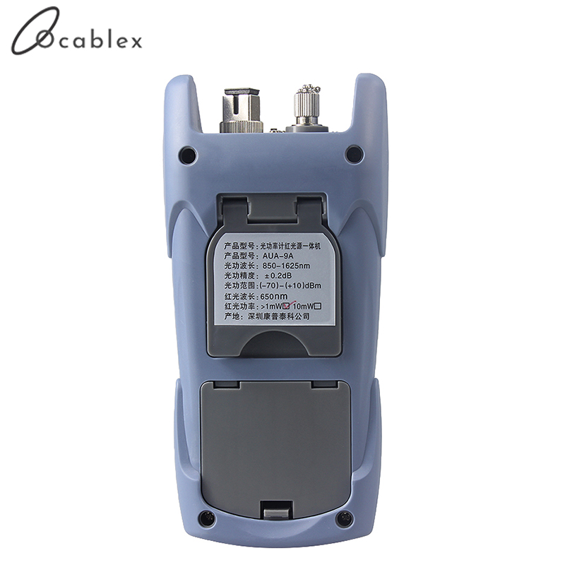 Image 3 - AUA 9 Laser Power FTTH Fiber Optic Optical Power Meter Cable Tester Free DeliveryFiber Optic Equipments