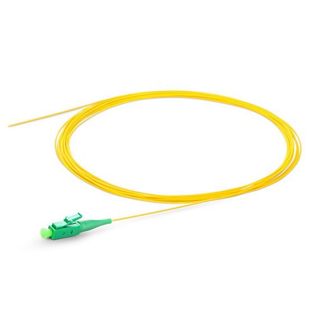 100pcs LC/APC-SM(9/125)-G652D, G657A1, G657A2-0.9mm Cable-1m Optical Fiber Pigtail