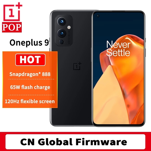 Global Rom OnePlus 9 5G Mobile Phone Android 11 Snapdragon 888 8GB 128GB 6.5'' 120Hz Fluid AMOLED Hasselblad Camera Smartphone 1