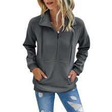 Bobora/женский осенний свитер лидер продаж пуловер однотонный