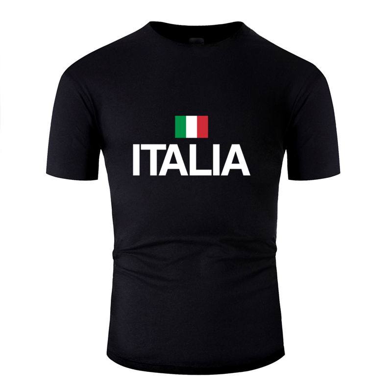 Personality Comfortable Italia Flag Pride Italian Italy Flag T Shirt Man 2019 Letter Clothing Mens T Shirt Humorous Euro