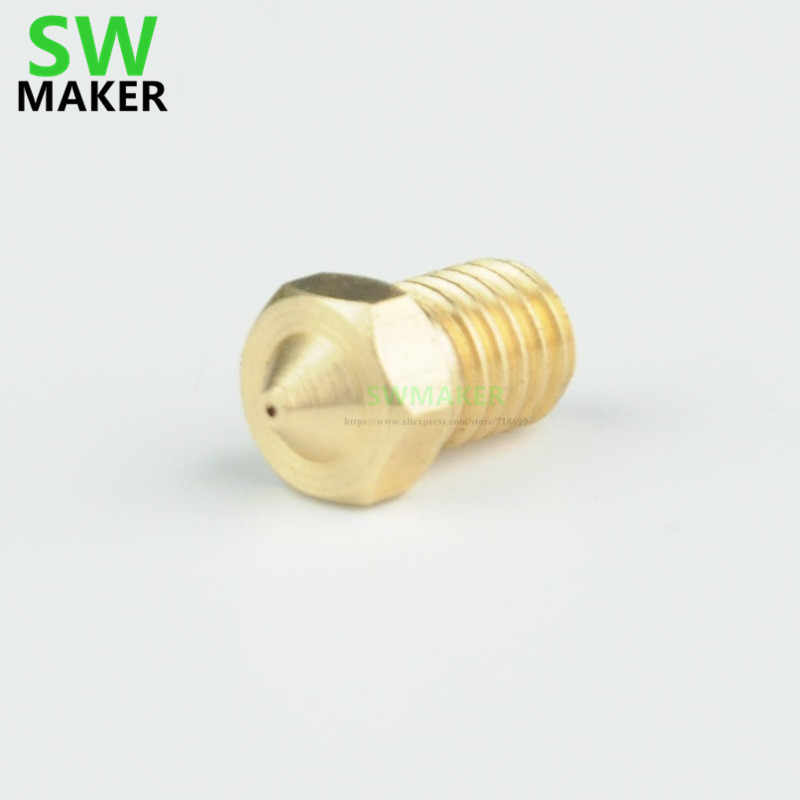 SWMAKER 1pcs Wanhao I3 Mini MK12 Nozzle ( V2.0 New ) of Duplicator i3 Mini FDM FFF 3D Printer Spare Parts|3D Printer Parts & Accessories| |  - title=