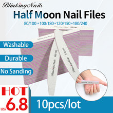 BlinkingNails Nail File 150/180 for Pedicure Professional Files 180 240 10pcs 100/180 Sanding Block 80/100