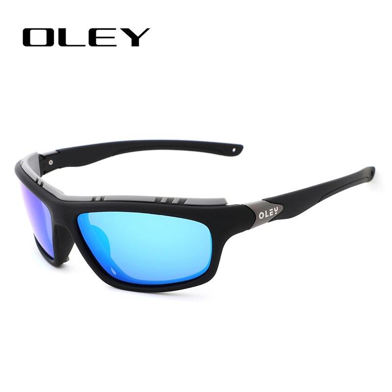 OLEY Brand Design New Polarized Sunglasses Men Fashion Male Eyewear Sun Glasses Outdoor Sports Goggles Support Custom Logo