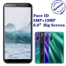 K10 Smartphones 4G RAM 64G ROM Face ID Unlocked Celulares Android Mobile Phones 13MP Quad Core 6 0 #8243 Screen 18 9 3G wifi 2SIM cheap BYLYND Detachable 64GB Face Recognition Up To 48 Hours 3200 Adaptive Fast Charge Smart Phones Bluetooth 5 0 Capacitive Screen