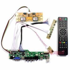 Комплект Yqwsyxl для M170EG01 V.A VA M170EG01 V.B VB TV + HDMI + VGA + AV + USB ЖК-контроллер для светодиодного экрана