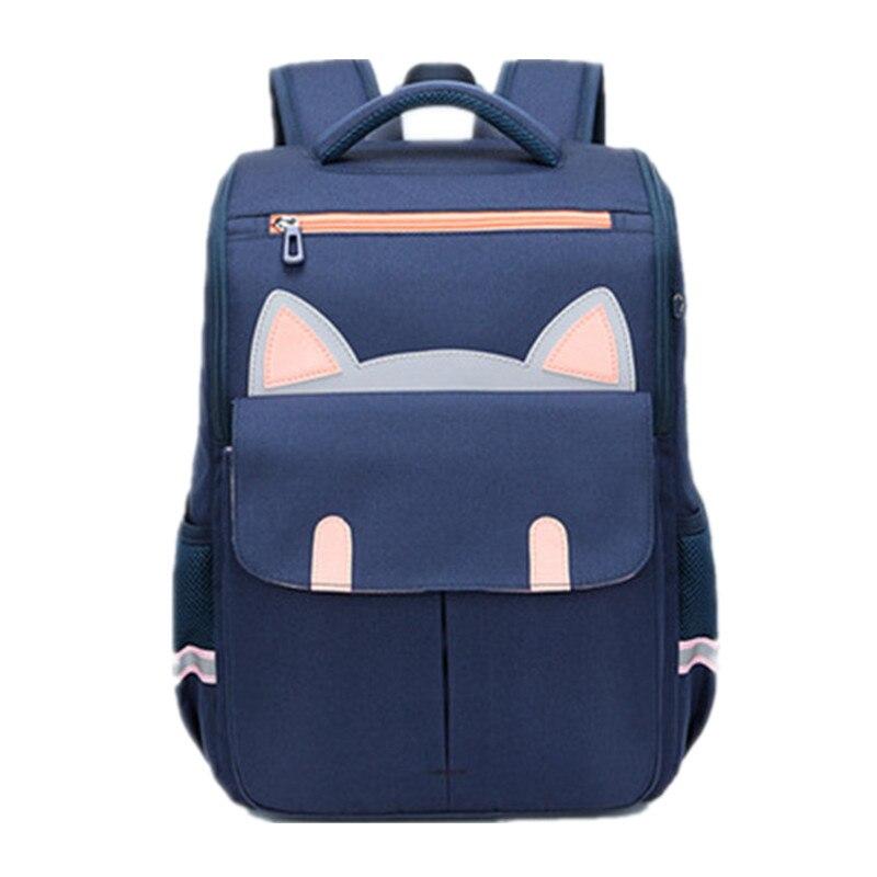 Lovely New Arrival 2020 Girl Orthopedic School Backpacks School Bags For Little Girls Boys School Bag Kids Baby Bags 2 Sizes