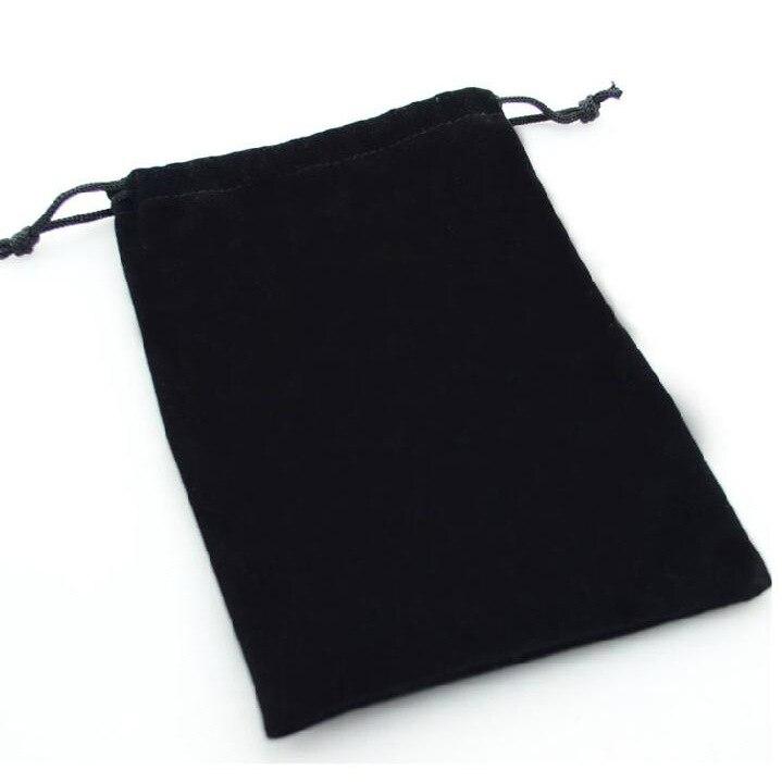 Black Velvet Bag Jewelry Bag Exquisite Beam Display Packing Bags 9x12