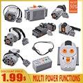 Hohe-tech teile 88002 motor ev3 gebäude block elektrische multi power motor funktionen werkzeug servo blöcke zug PF modus sets