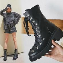 Zorssar Martin Boots Leather Boot 2019 Autumn Winter Fashion