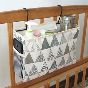 Тканевая подвесная сумка для хранения, прикроватный органайзер для хранения телефонных книг, сумка для хранения, держатель для спальни, ком...