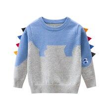 Kids Sweaters Spring Dinosaur Toddler Baby-Boys Tops Clothing Winter Cartoon Autumn